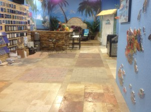 Treasure Pools Show Room